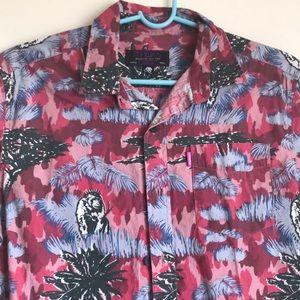 Mishka Shirts - Mishka Ape Button Down Shirt